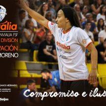 Sara Moreno seguirá jugando en el Ourense Envialia FSF
