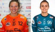Las dos porteras del primer equipo renuevan su compromiso con el club porriñés una temporada más