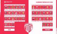 Calendario CD Lugo temporada 2019/2020