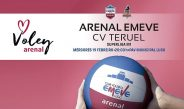 SVM: Arenal Emevé-CV Teruel o mércores día 19!
