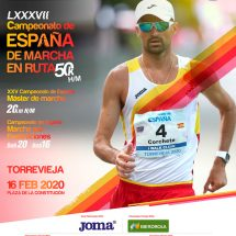 Campeonato España de Marcha Atlética.