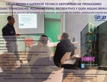 CICLO MEDIO Y SUPERIOR TÉCNICO DEPORTIVO DE PIRAGÜISMO